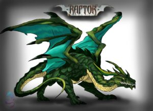 artwork raptor fumetto